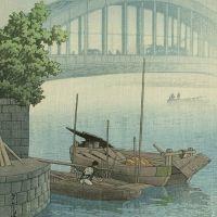 Kawase Hasui Eitai Bridge 1937