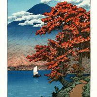 Kawase Hasui Lake Chuzenji In Nikko National Park Tochigi Prefecture - 1930