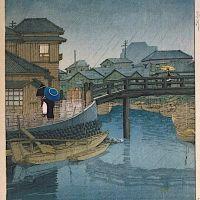 Kawase Hasui Shinagawa Tokyo - 1931