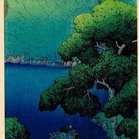 Kawase Hasui Tsuta Marsh Mutsu 1919