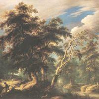 Keirincx Alexander Huntsmen In The Forest
