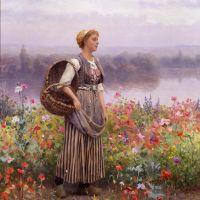 Knight The Flower Girl