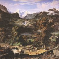Koch Joseph Anton Swiss Landscape Berner Oberland