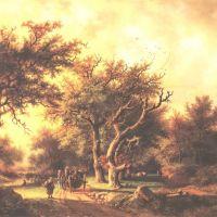 Koekkoek Barend Cornelis Landscape