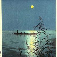 Koho Shoda Moonlit Sea - 1930