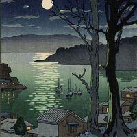 Koitsu Tsuchiya Maizuru Harbor At Night 1936