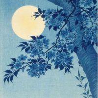 Koson Ohara Blossoming Cherry On A Moonlit Night - 1932