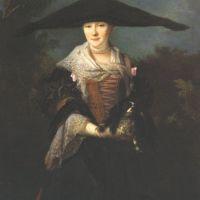 Largillere Nicolas De The Strasbourg Belle