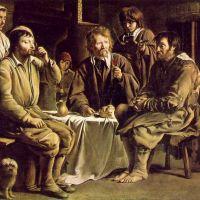 Le Nain Peasant Family In An Interior