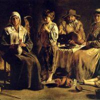 Le Nain Peasant Meal