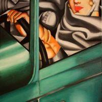 Lenmpicks Tamara De Lempicka In The Green Bugatti Autoportrait