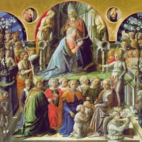 Lippi Fillipi Coronation Of The Virgin