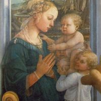 Lippi Fillipi Madonna With Child And Angels