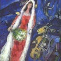 Marc Chagall La Mariee