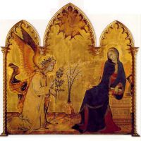 Martini Simone The Angel And The Annunciation