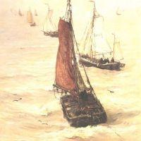 Mesdag Hendrick Willem Fishing Fleet