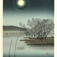 Miyamoto Shufu Moonlight On The Lake