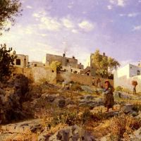Monsted A View Of Anacapri