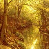 Monsted A Woodland Stream