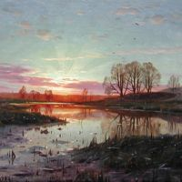 Monsted Evening At Naesbyholm