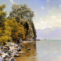 Monsted Fishing On Lac Leman