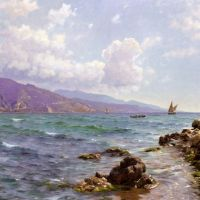 Monsted Peter Fishing Boats On The Water Cap Martin