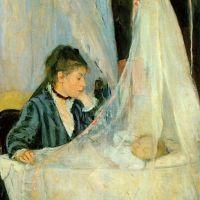 Morisot Berthe Le Berceau The Cradle