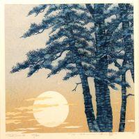 Namiki Hajime Moonlight - Tree Scene 96