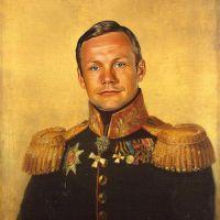 Neil Armstrong George Dawe Style