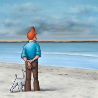 Ole Ahlberg Tintin - Bellevue