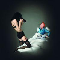 Ole Ahlberg Tintin - Paparazzi