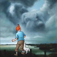 Ole Ahlberg Tintin - Sight Seeing