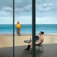 Ole Ahlberg Tintin - The Balcony In Phu Quoc