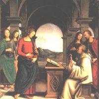 Perugino Pierro The Vision Of St Bernard