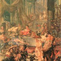 Platzer Johann Georg Cleopatra S Banquet
