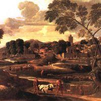 Poussin Nicolas Paysage Avec Les Funerailles De Phocion