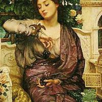 Poynter Lesbia And Her Sparrow