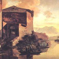 Pynacker Adam Paysage Avec Une Maison Sur Le Fleuve