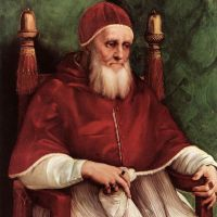 Raphael Portrait Of Julius Ii 1511