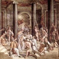 Raphael The Baptism Of Constantine