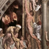 Raphael The Fire In The Borgo - Detail