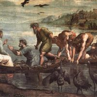 Raphael The Miraculous Draught Of Fishes
