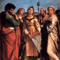 Raphael The Saint Cecilia Altarpiece