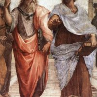 Raphael The School Of Athens - Detail