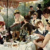 Renoir The Luncheon Of The Boating Party