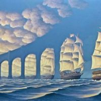 Rob Gonsalves The Sunset Sails