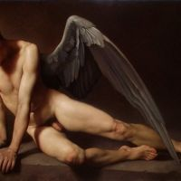 Roberto Ferri Amore Piange Sulla Tomba Di Psiche - Love Cries On The Tomb Of Psyche