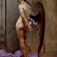 Roberto Ferri L Angelo Della Morte O L Attesa - The Angel Of Death Or Waiting