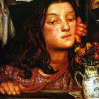 Rossetti Girl At A Lattice