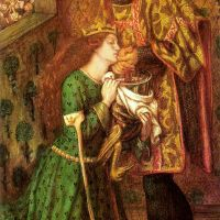 Rossetti Saint George And The Princess Sabra